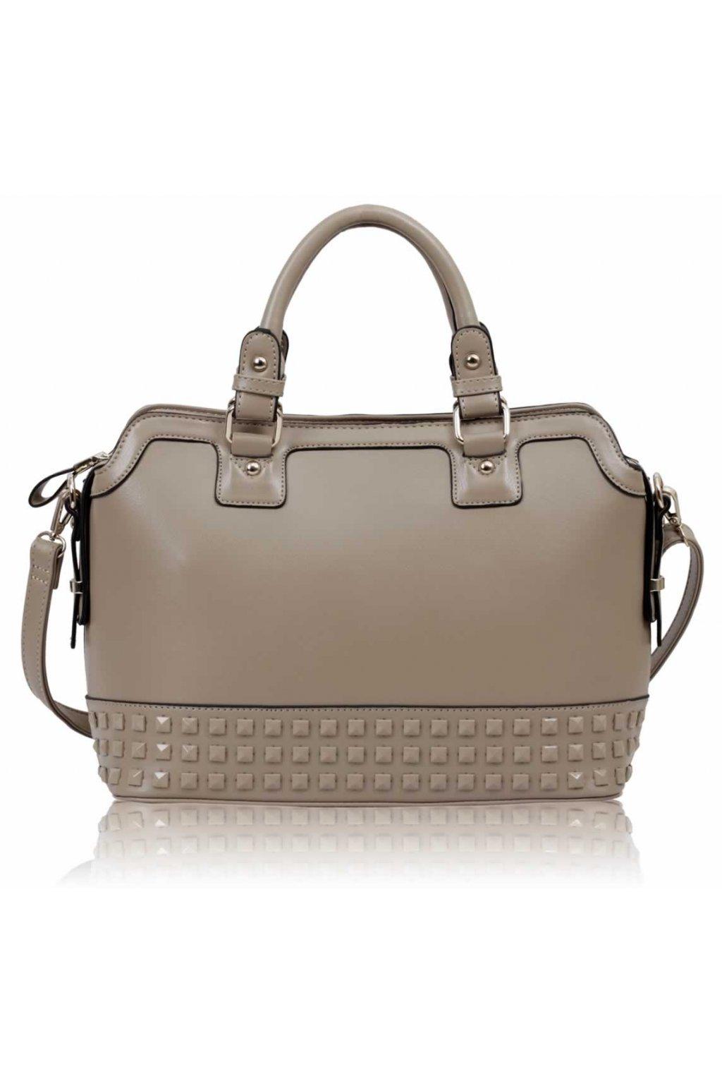 Shopper kabelka do ruky Doreen telová LS00157A