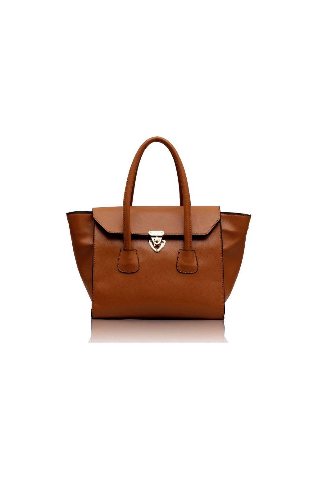 Shopper kabelka do ruky Hope hnedá LS00183