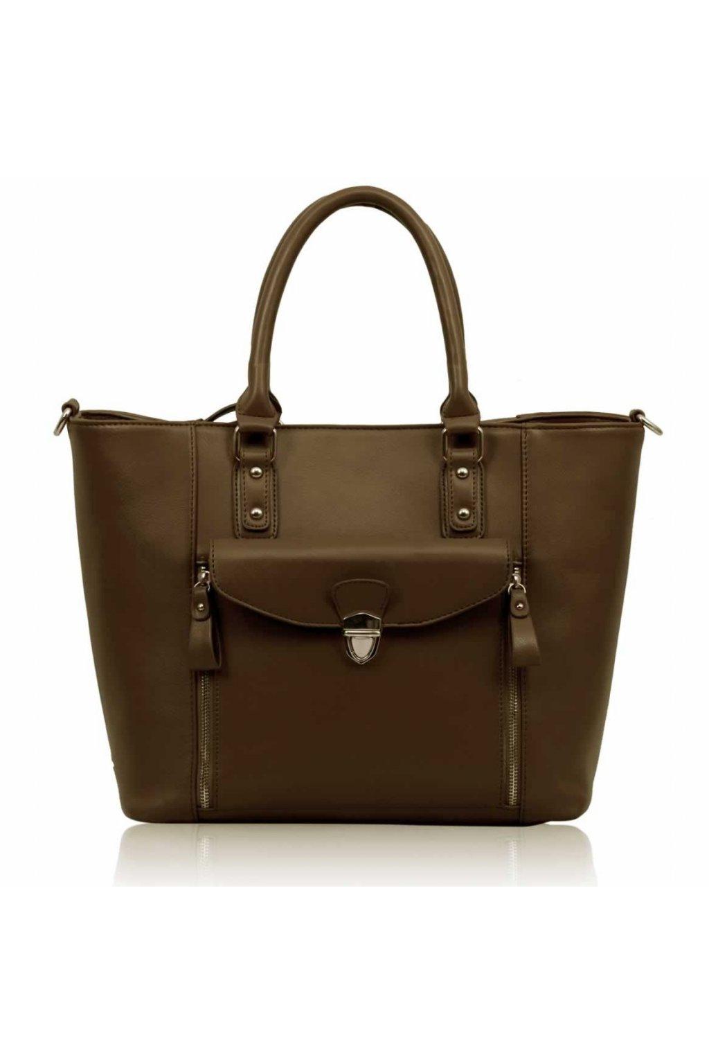 Shopper kabelka do ruky Janice telová LS00170A