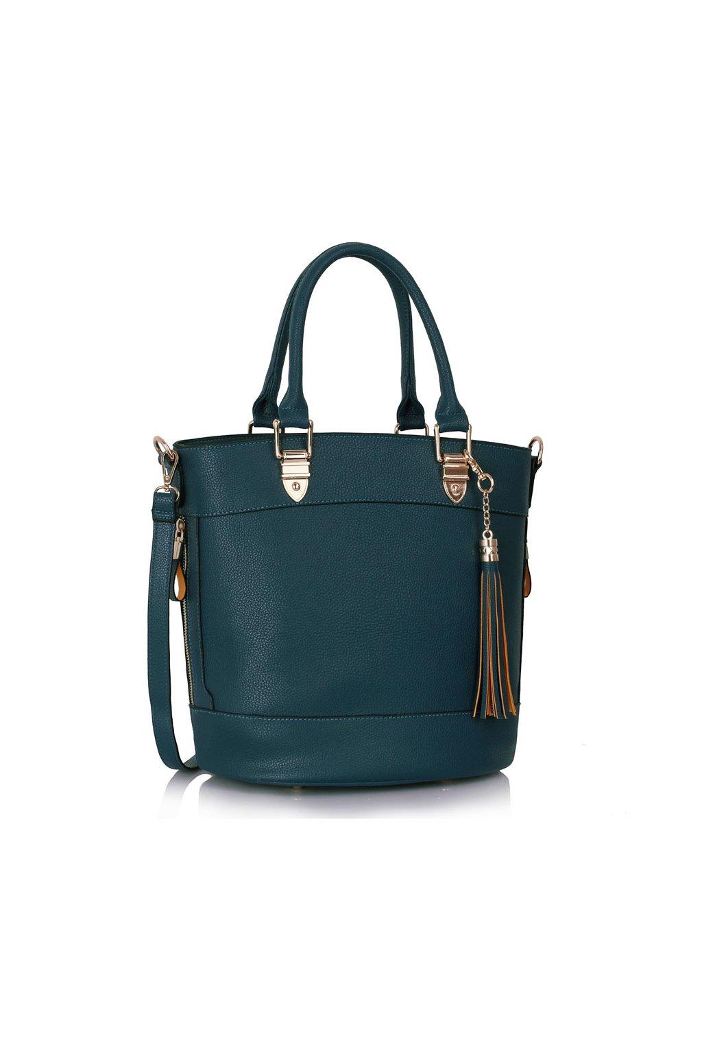 Shopper kabelka do ruky Lexy námornícka LS00321