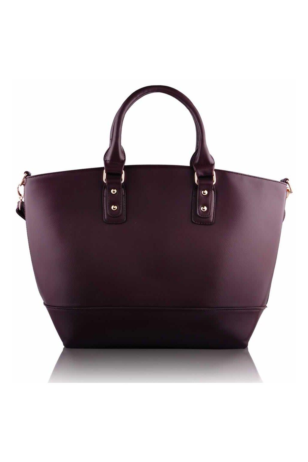 Shopper kabelka do ruky Loran B káva LS0085B
