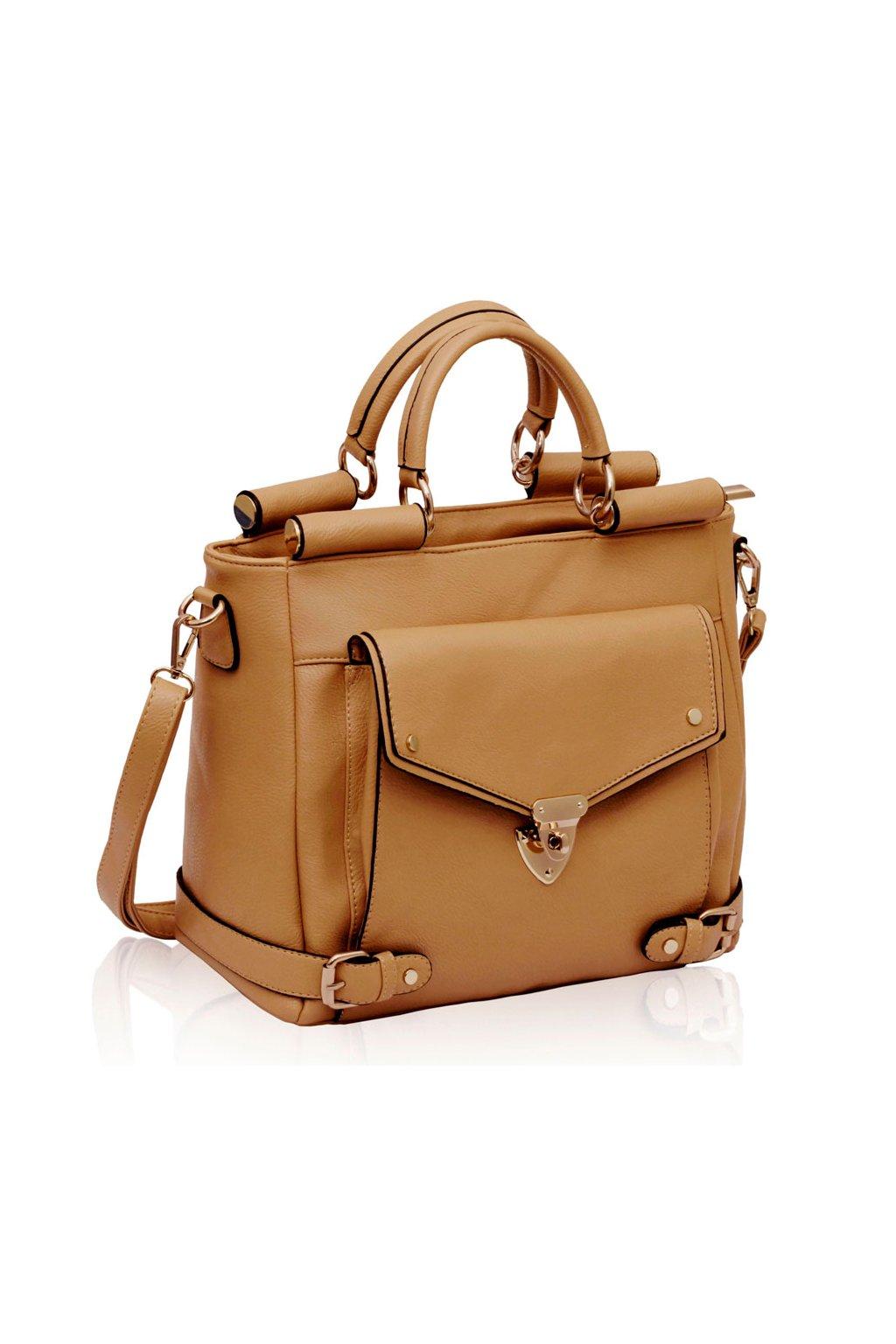 Shopper kabelka do ruky Madelyn telová LS00237