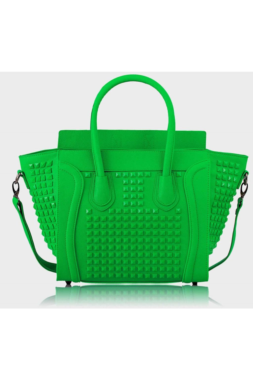 Shopper kabelka do ruky Zaza Rebel zelená LS0038