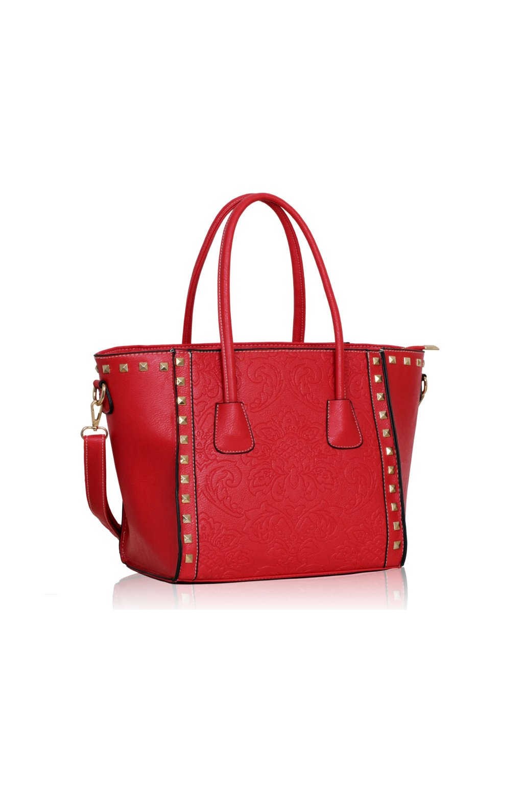 Trendová kabelka do ruky Alice červená LS00234A