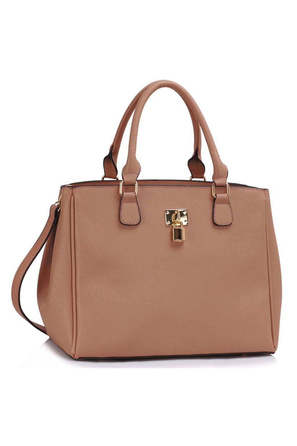 Trendová kabelka do ruky Janis telová LS00410