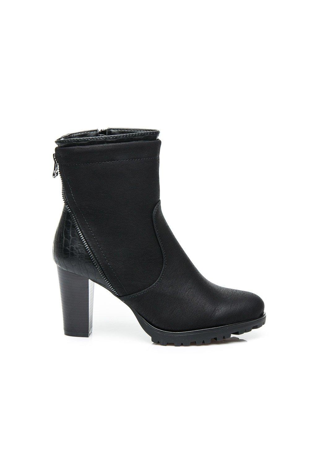 6e37ff1089 Čierne elegantné topánky 58834B   S1-32P