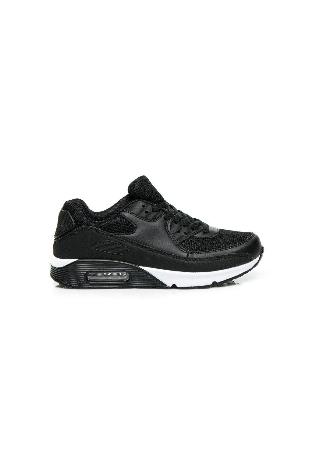 Čierne športové tenisky s-01b veľ.č. 39 (Veľkosť 42)