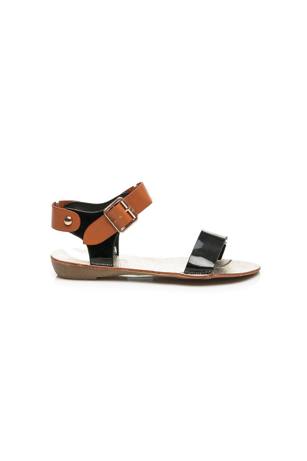 Dvojfarebné sandále 2D298B (Veľkosť UK7 / EUR 40)