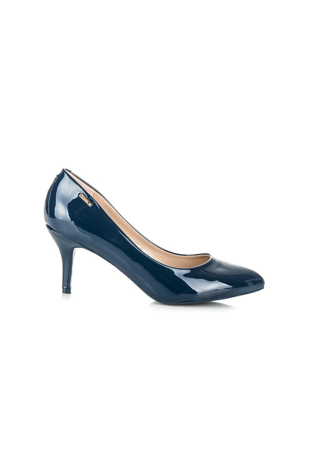 Klasické modré lodičky shine Vices CH03BL