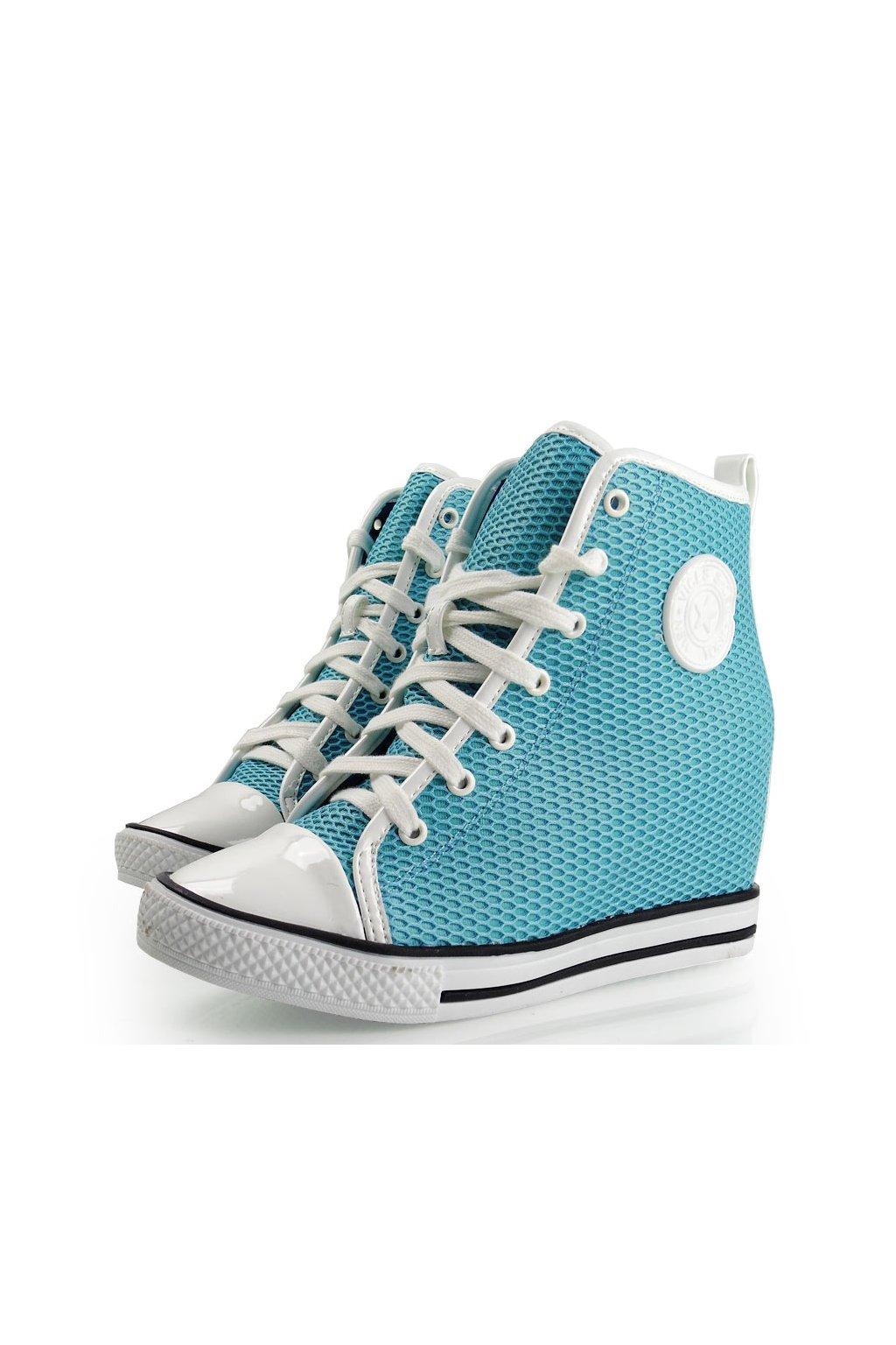 1a12658bb2 Platformové tenisky modré