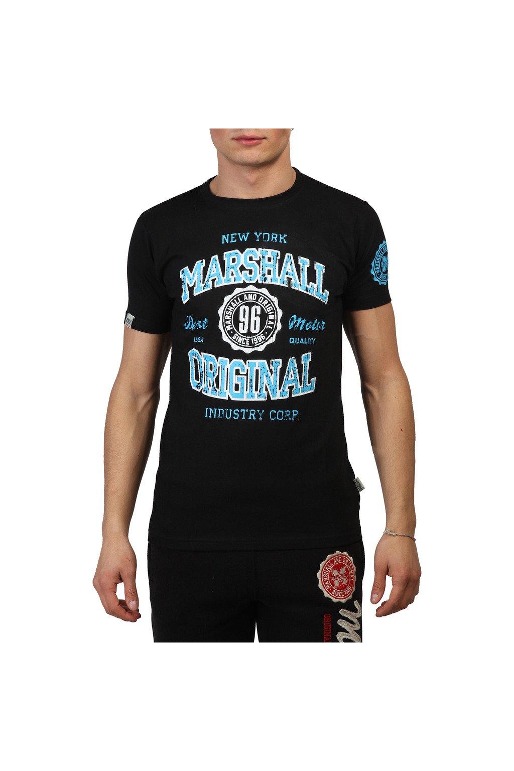9ad2560710cf Pánske tričko Marshall Original čierne