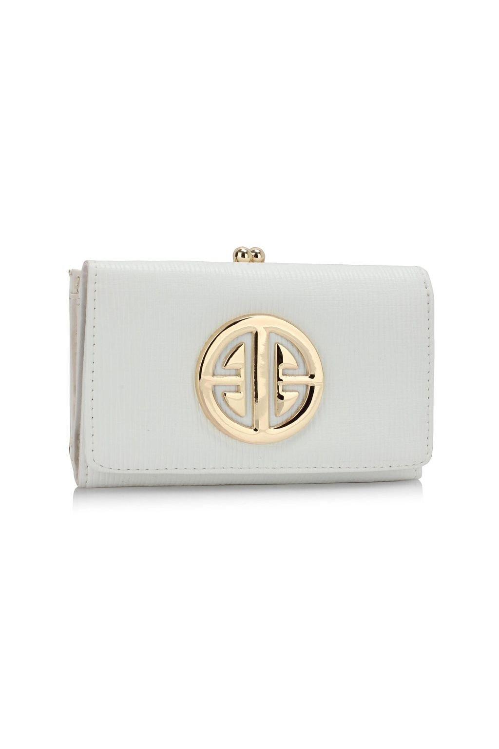 Peňaženka Jocelyn biela LSP1063