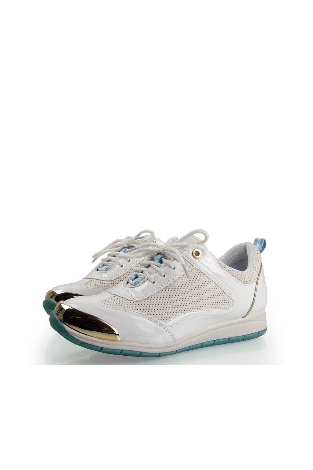Športové tenisky biele Y621-41 veľ.č.  37, 40 (Veľkosť UK9 / EUR 42)
