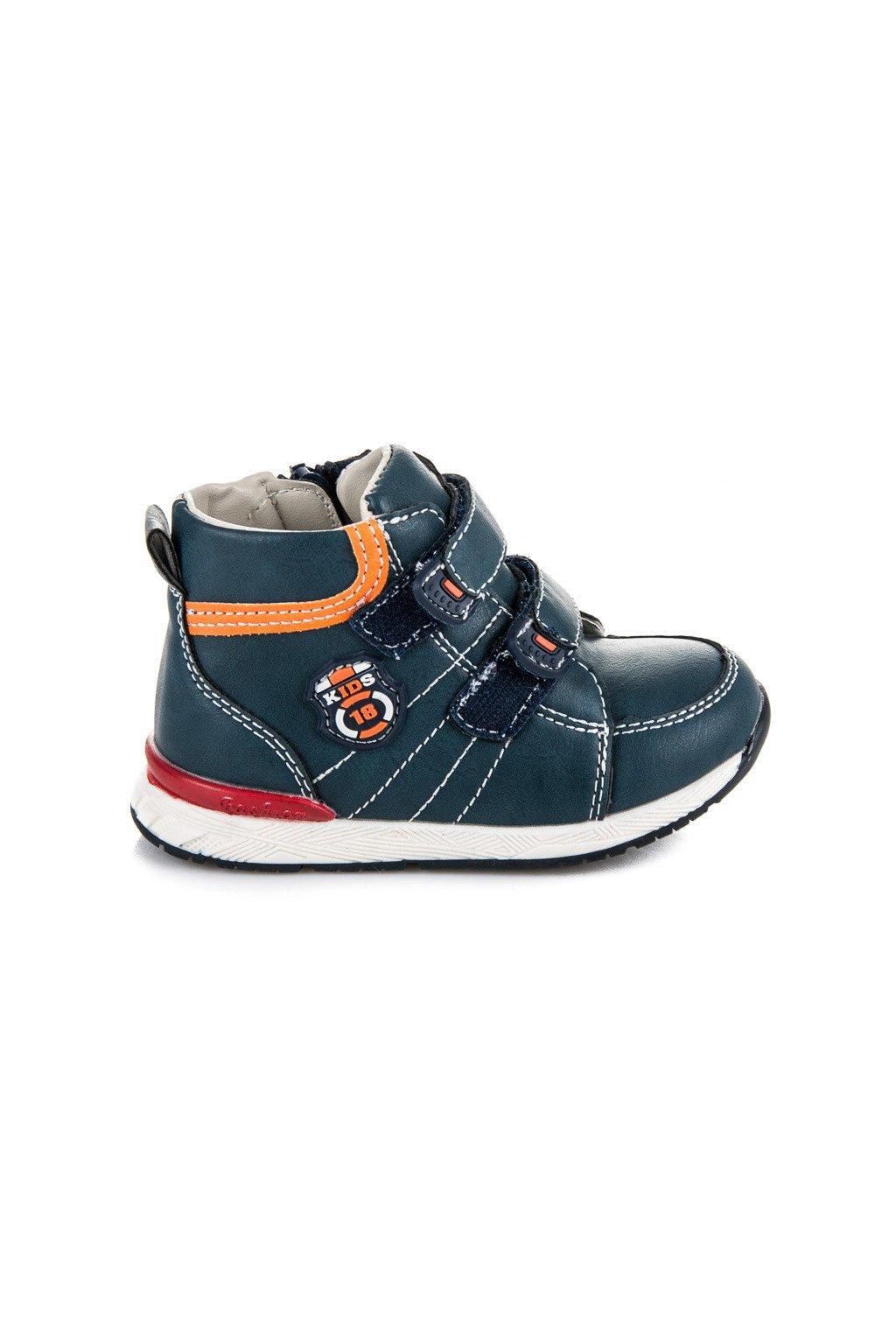 04bea049f8 Topánky pre chlapcov 6013-09BL OR