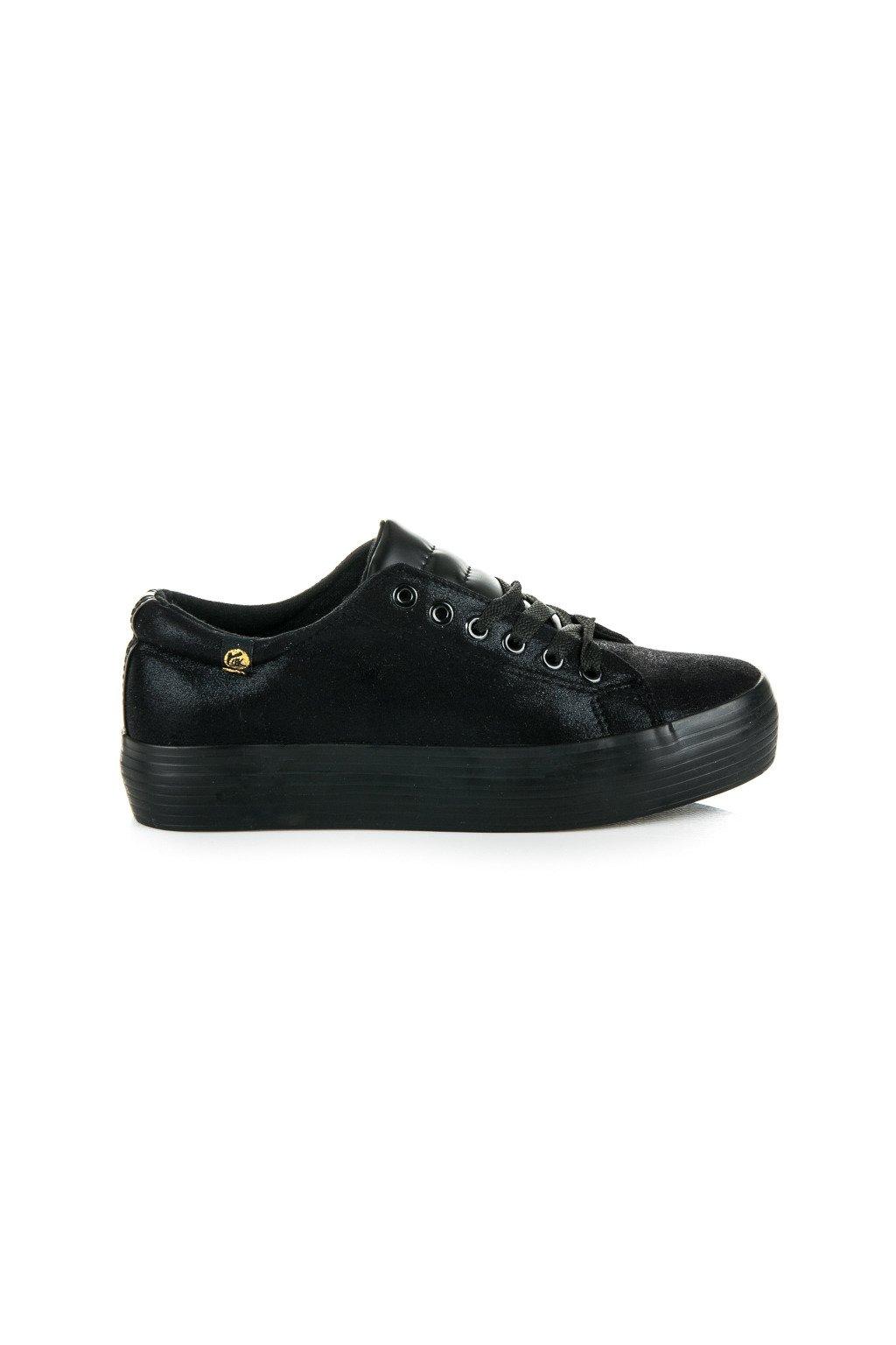 Čierne tenisky Creepers 1520004TO/NE
