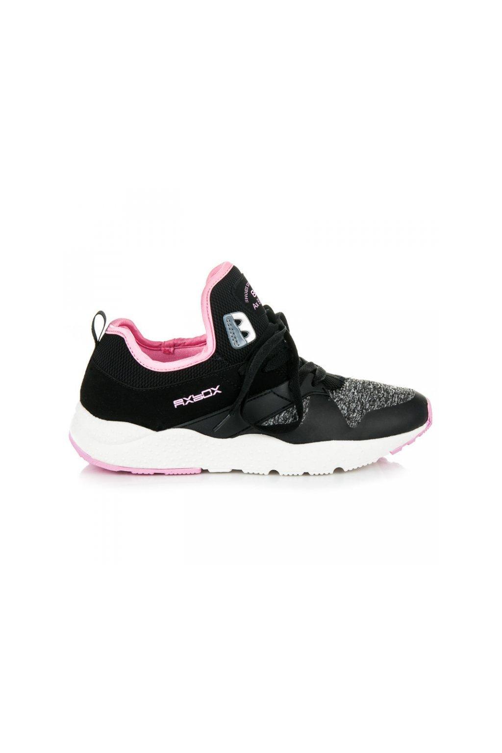 Čierne tenisky B7106B/P