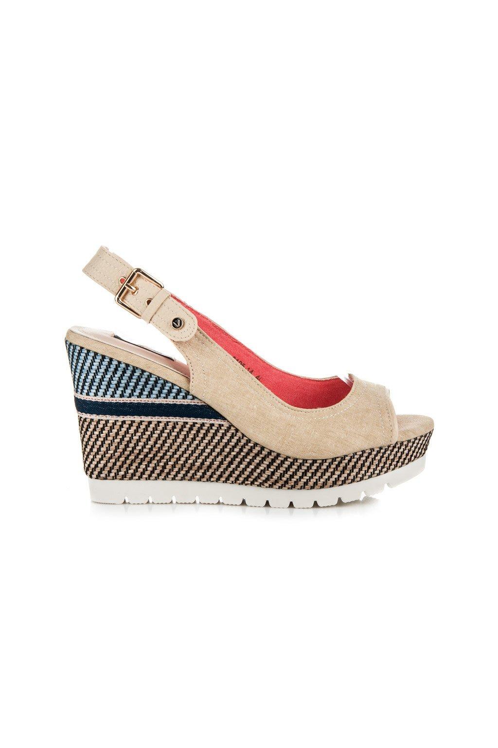 Béžové sandále 6105-14BE