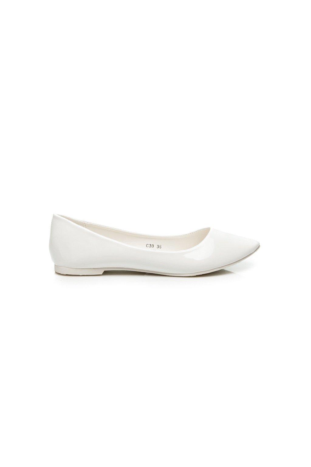 Biele balerínky DAISY C30W 5e8176b117d