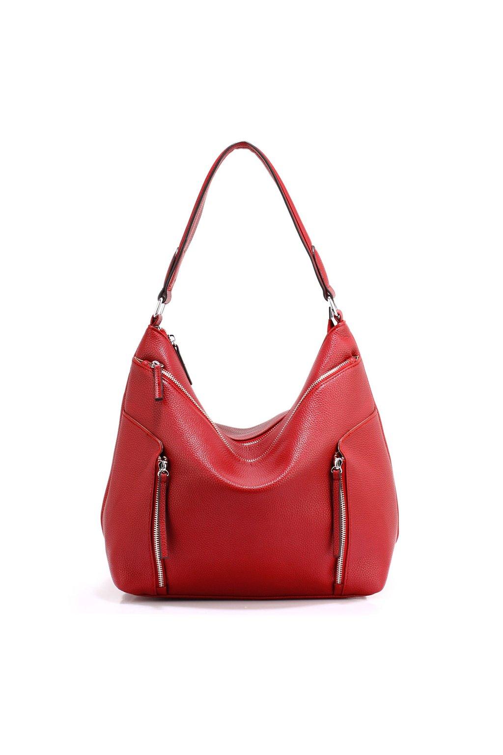 646155e46ed4 Trendy kabelka na rameno Emma červená AG00529