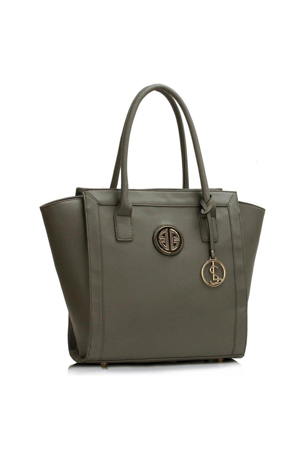 Sivá shopper kabelka do ruky Carin LS00417