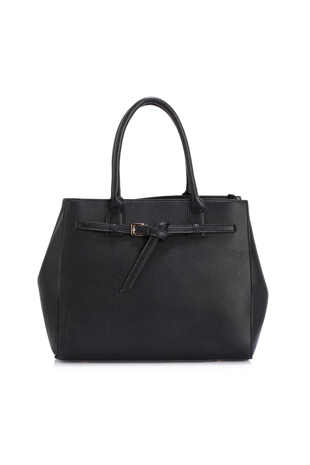 Čierna kabelka do ruky Adriana AG00447