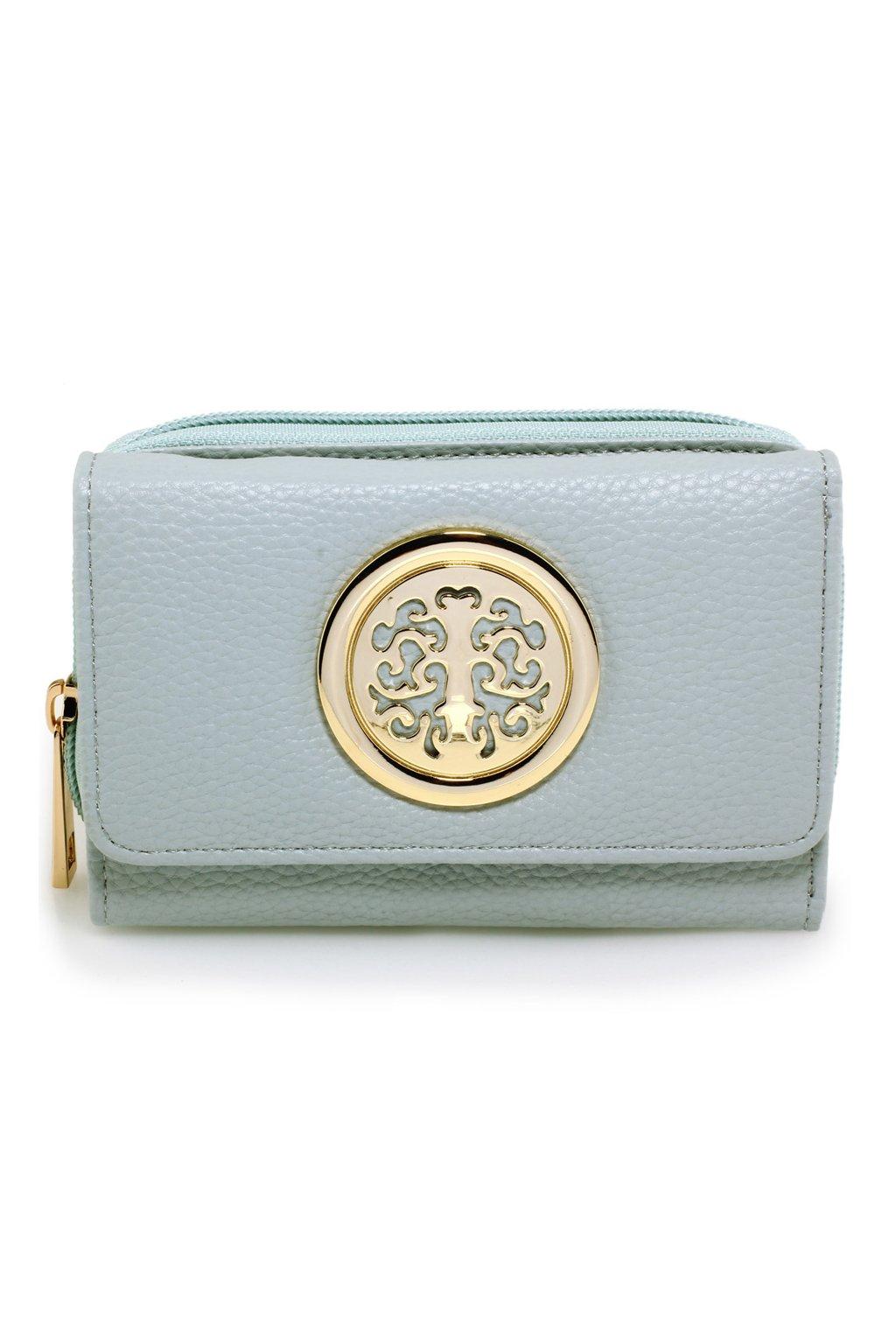 Modrá peňaženka Nina AGP1052A