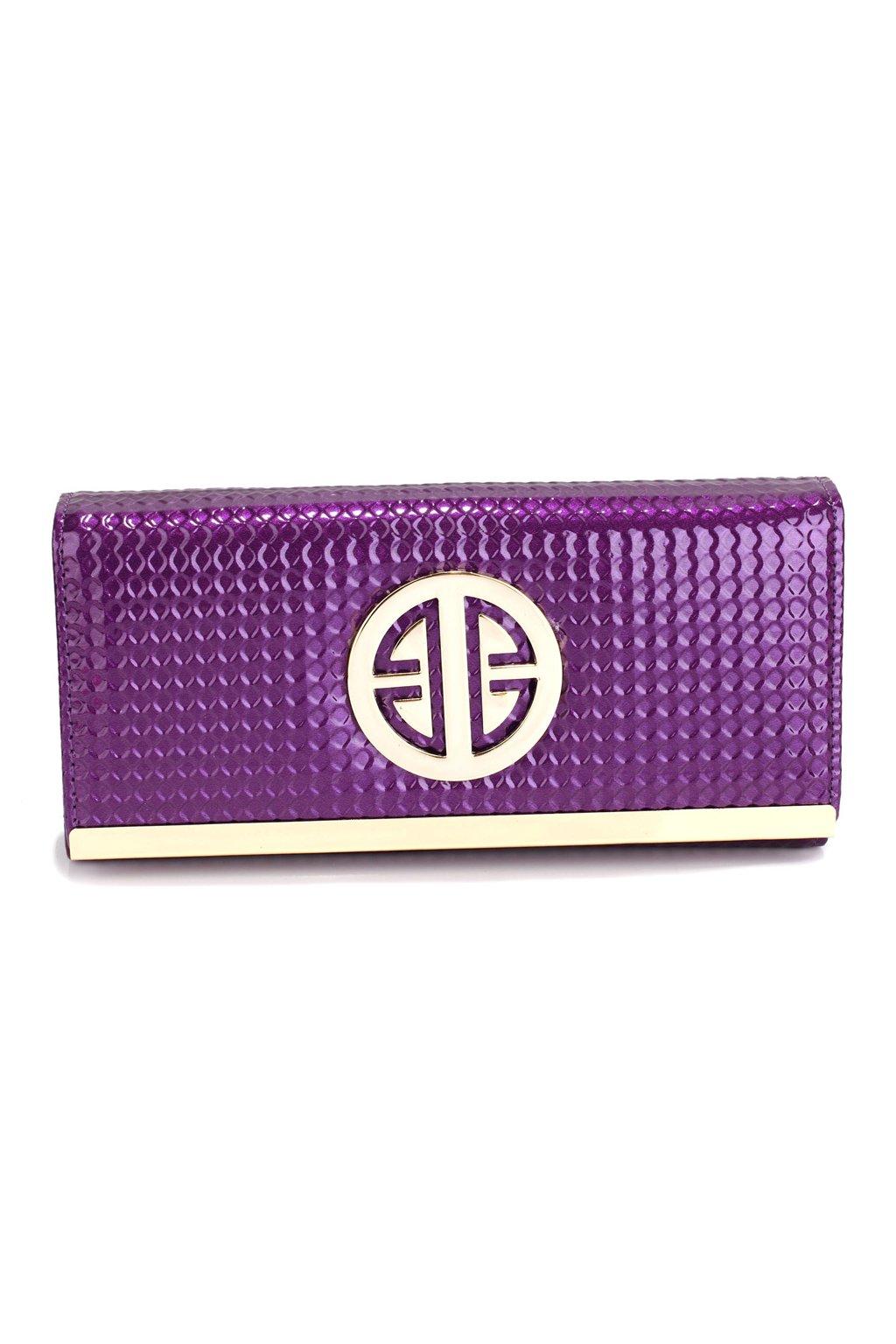 Fialová peňaženka Barbara AGP1058A