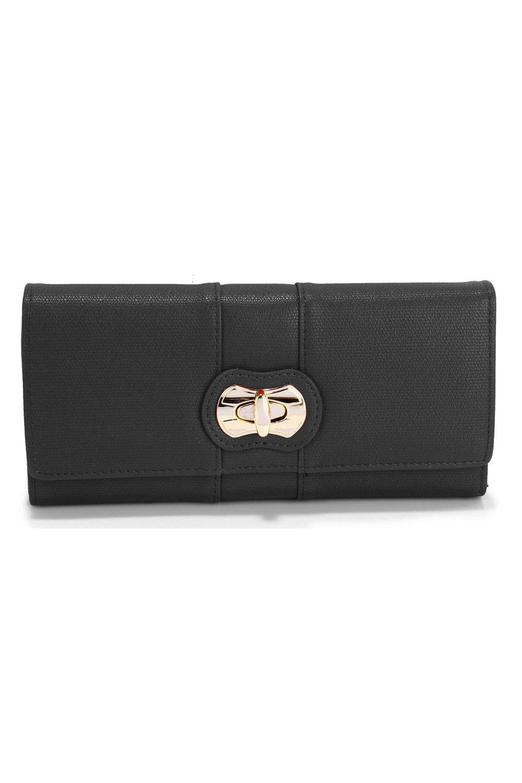 Čierna peňaženka Berta LSP1055A