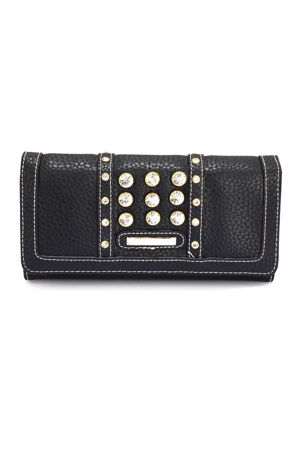 Čierna peňaženka Carmen LSP1041A