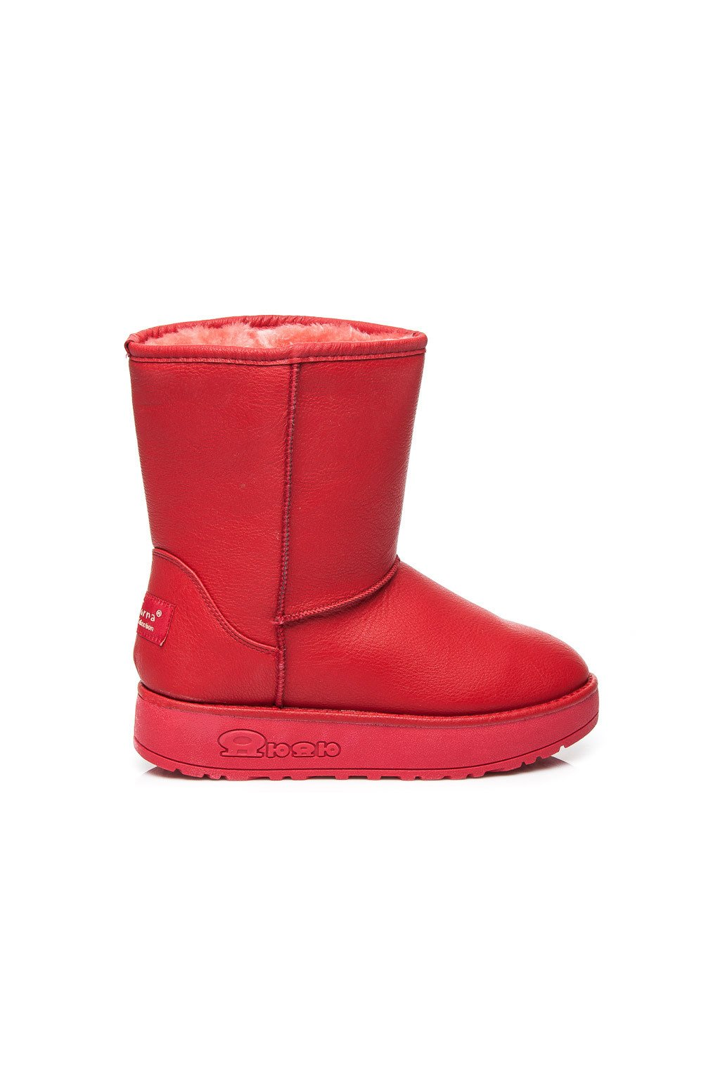 Červené snehule Estera 066R   S3-68P 0a16dd951a8