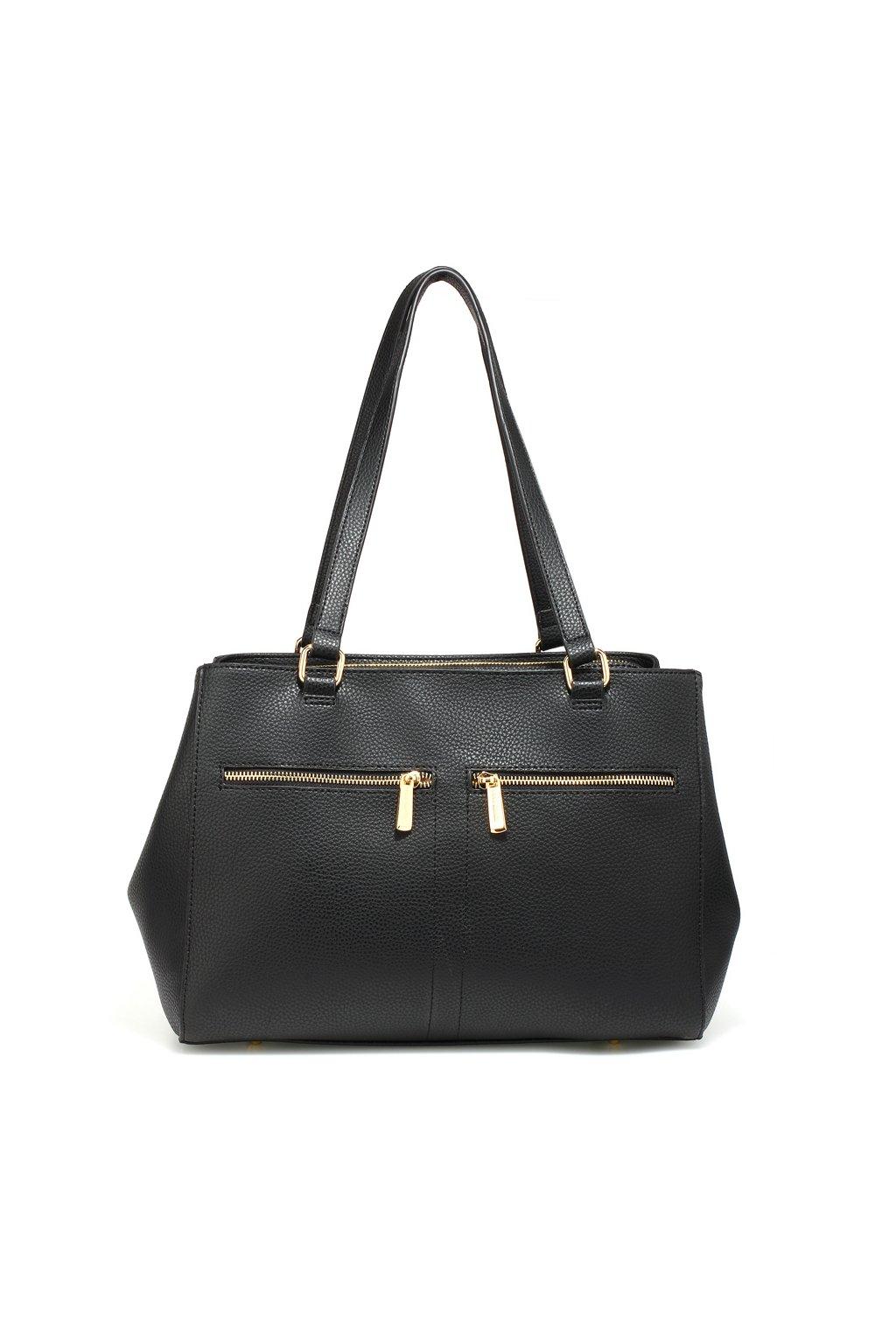 Čierna kabelka na rameno Amelia AG00526