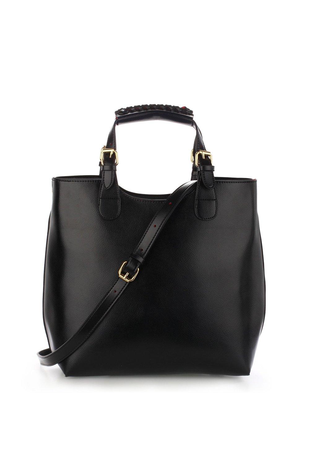 Kabelka čierna Delia AG00267
