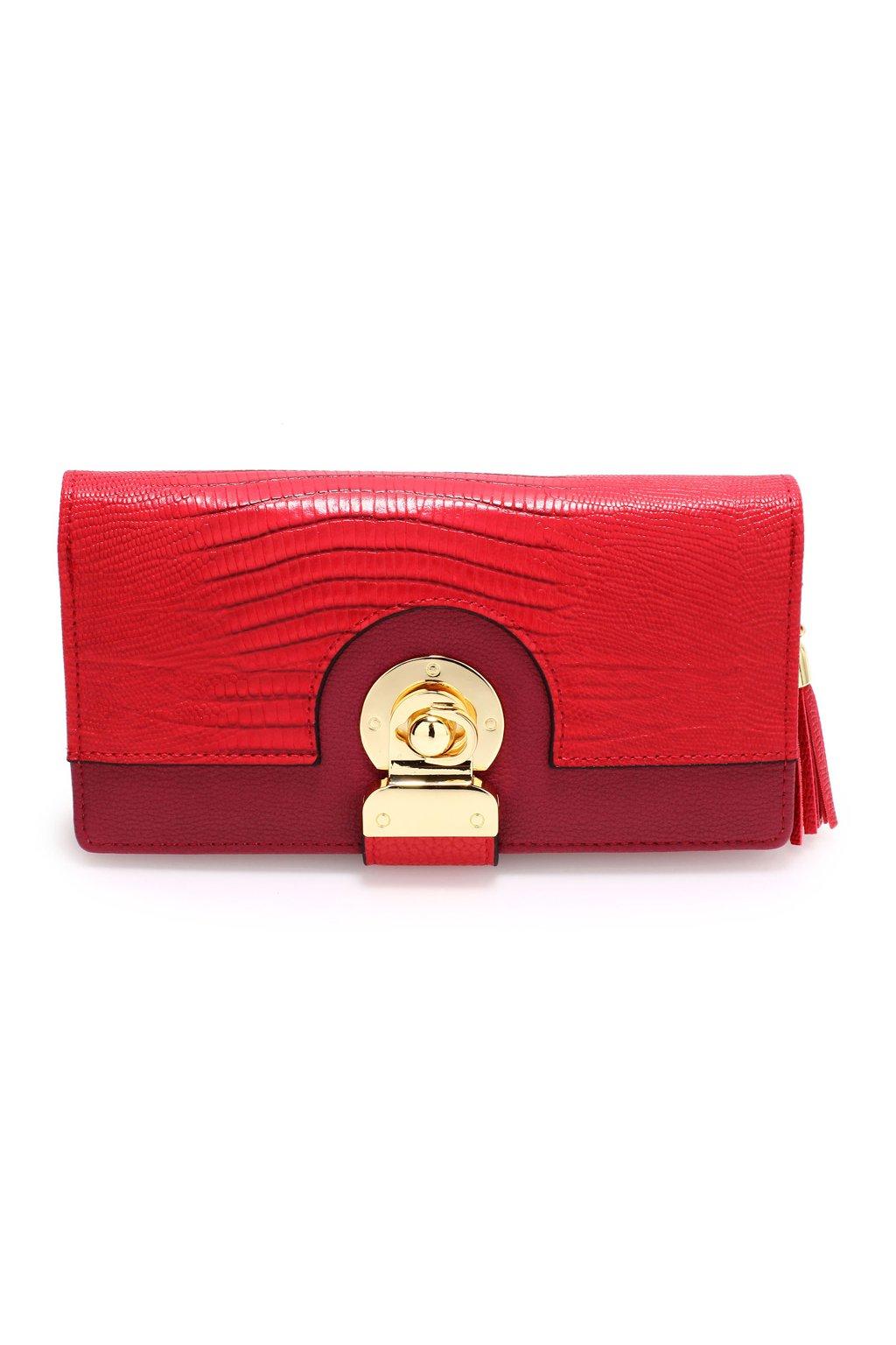 Červená peňaženka Megan AGP1092B