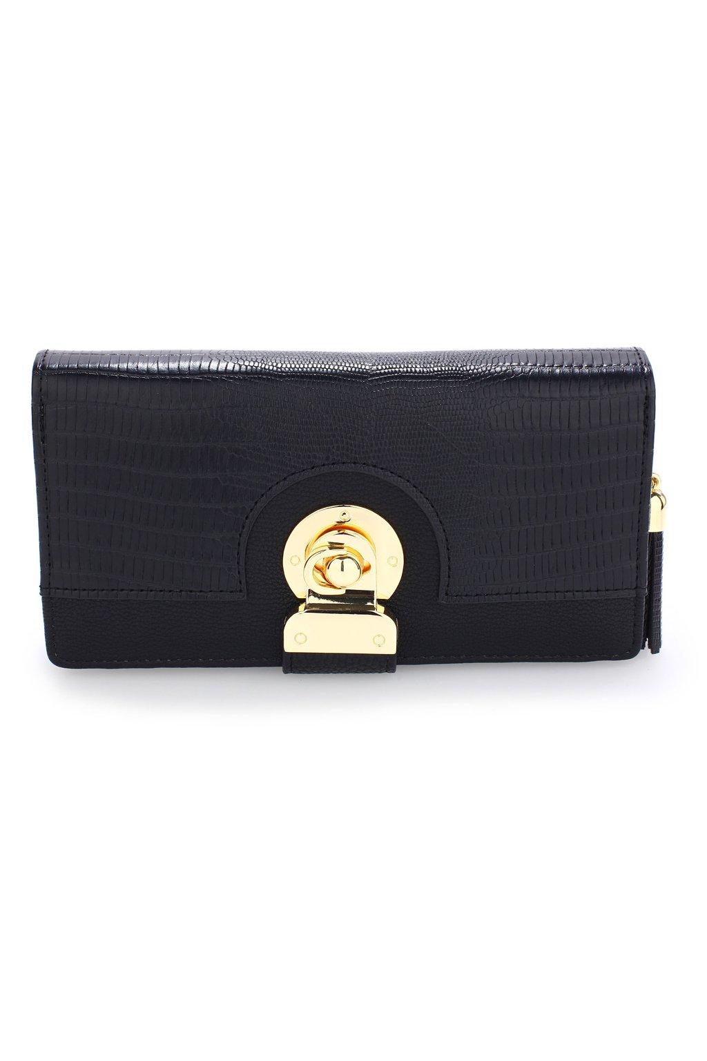 Čierna peňaženka Megan AGP1092B
