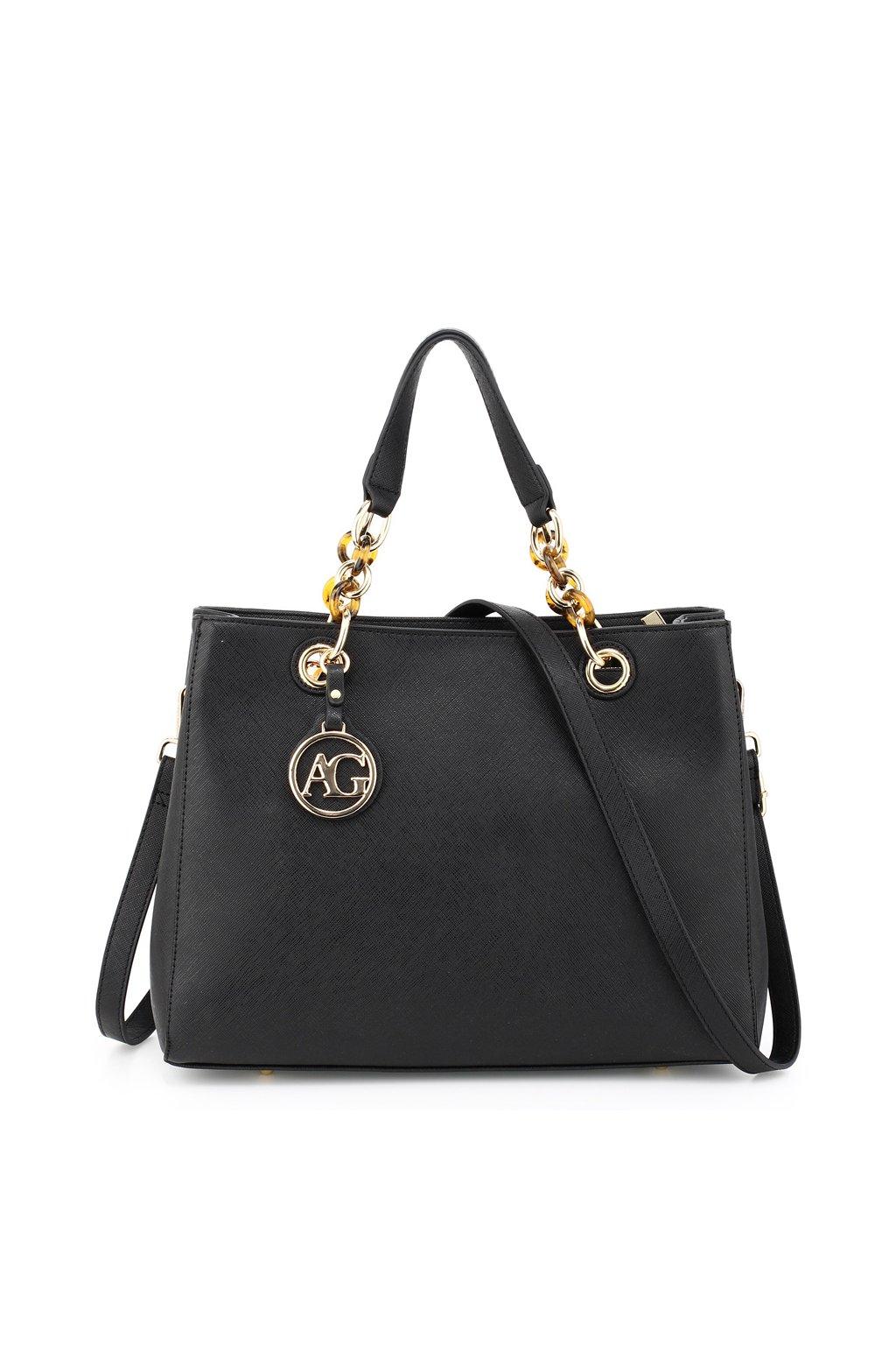 9a59e2fa4f Čierna kabelka do ruky Zoe AG00536A