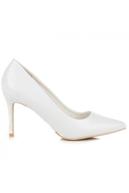Biele pastelové lodičky Vices 1403-41W