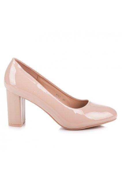 Elegantné ružové lodičky Ariela