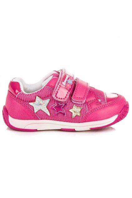 Ružové tenisky pre dievčatá American Club