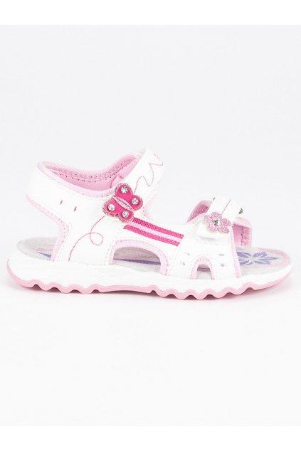 Detské ploché sandále S2358W/F