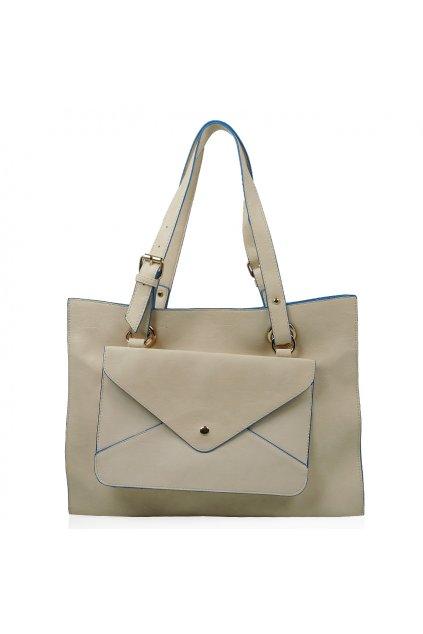 Béžová kabelka Just Glamour