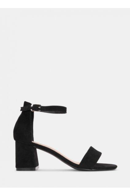 czarne sandalki na srednim obcasie destino 2502171 389905 2