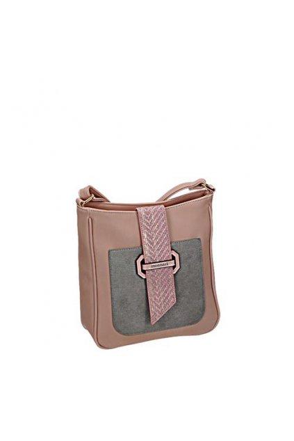 Ružová crossbody kabelka MONNARI BAG 0170-004 W18