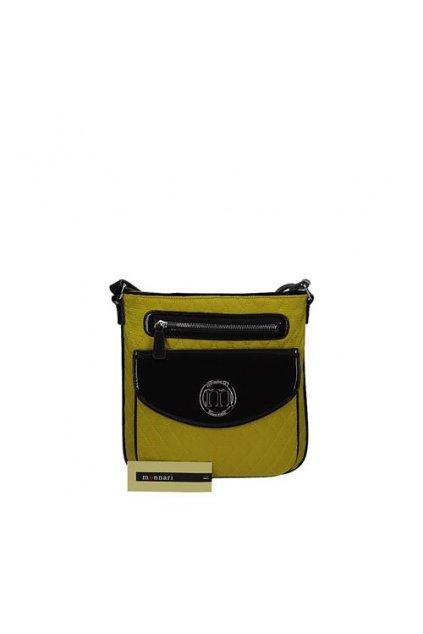 Žltá crossbody kabelka MONNARI BAG 0752-003 W16