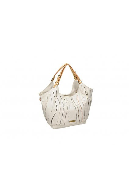 Biela kabelka na rameno Monnari BAG 1710-000 W18