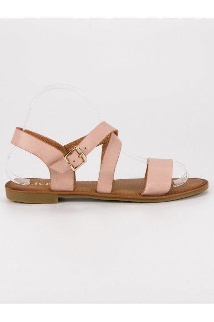 Ružové sandále na leto C1806BE