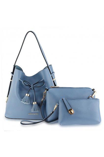 Kabelka na rameno Tiffany modrá AG00656