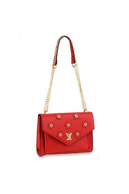 Crossbody kabelka červená Alia AG00626