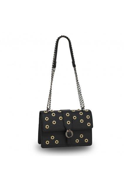 Crossbody kabelka čierna Jessica AG00630
