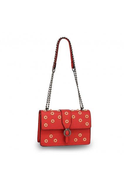 Crossbody kabelka červená Jessica AG00630