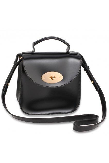 Crossbody čierna kabelka Maia AG00662